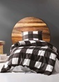 Eponj Home Tek Kişilik Nevresim Takımı Siyah